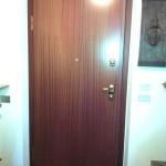 Sostituzione porta blindata DIERRE Sentry 1 , abitazione a Olza (PC).