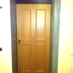 Porta blindata DIERRE double 1 plus , abitazione a Trigolo (CR).
