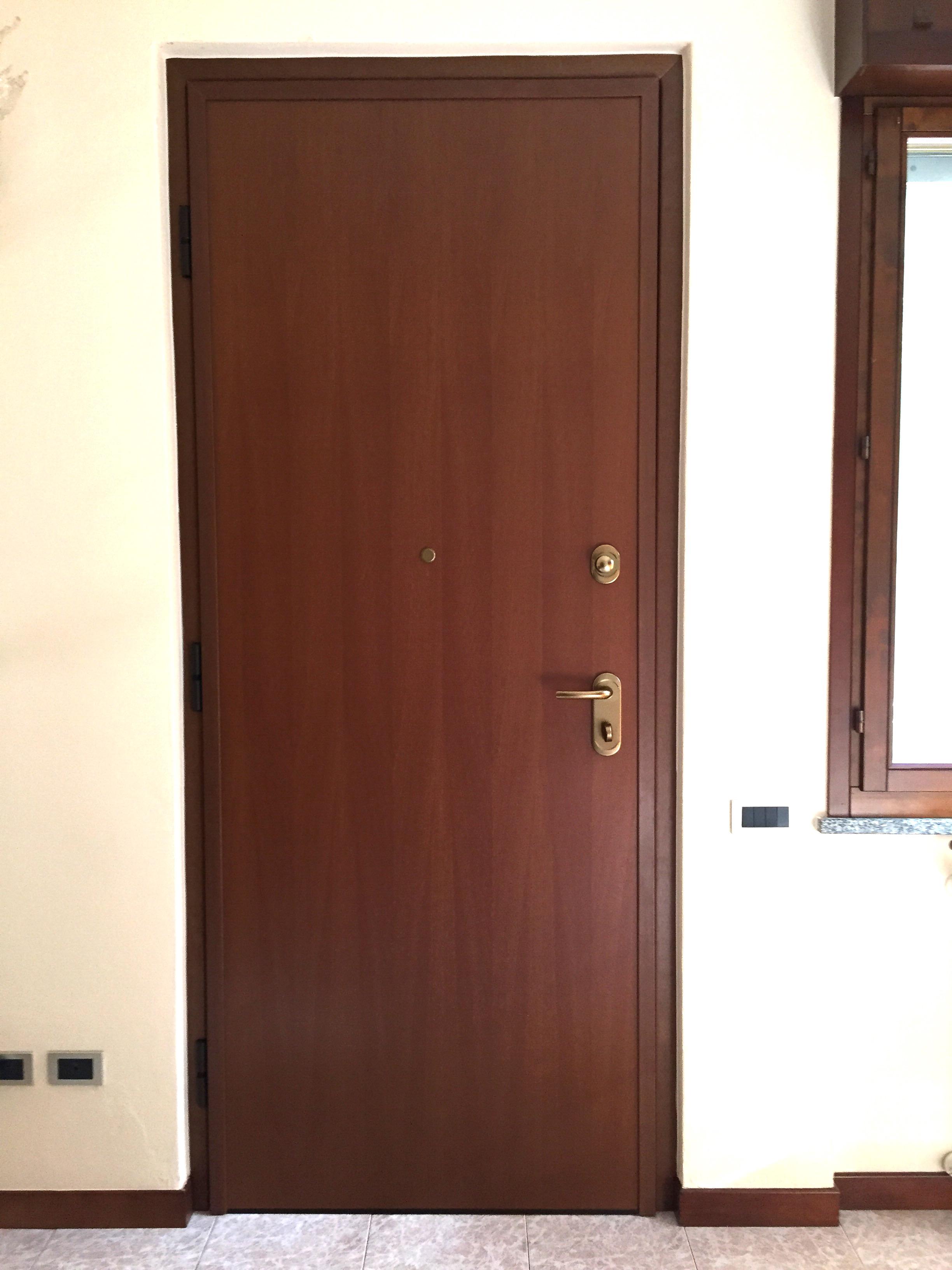 Porta blindata Dierre mod. Double 1 Plus , abitazione a Cremona.
