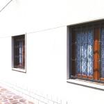 Inferriate fisse , abitazione a Castelverde.