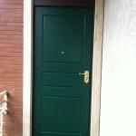 Porta blindata DIERRE , double 1 Plus , abitazione a CRemona.