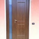 Sostituzione portoncino in PVC , abitazione a Verolavecchia.
