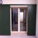 Antone in alluminio dogato verticale , scorrevole , abitazione a Cremona